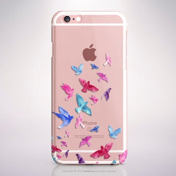 iPhone SE case Birds Clear Samsung Galaxy S6 Edge case Clear iPhone 6s case iPhone 6 plus case iPhone 6s plus case Transparent iPhone 5 Case