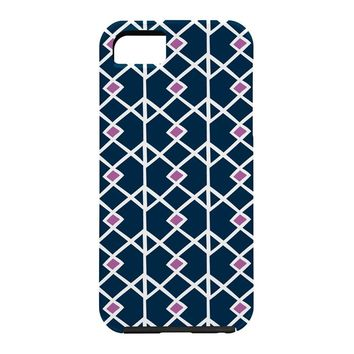 Heather Dutton Annika Diamond Orchid Cell Phone Case