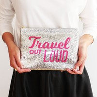 Travel Out Loud Pouch