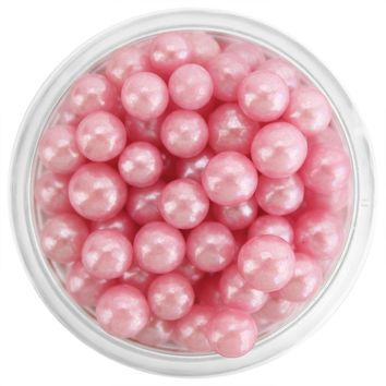 Pearly Pink Sugar Pearls 5-6MM