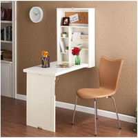 Wildon Home ® Adams Wall-Mounted Floating Desk