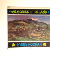 OCTOBER SALE Sealed Record Paddy Noonan Memories Of Ireland Vinyl Album LP Bagpipes Nightingale Maggie Jigs