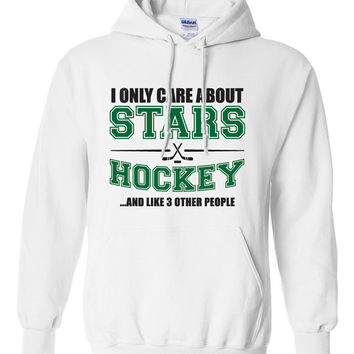Dallas Stars Hockey Sweater NHL Stars Hockey Mens Birthday Gift Christmas Gift Ultimate Hockey Fan Custom Hoodie Team Pride BD-215