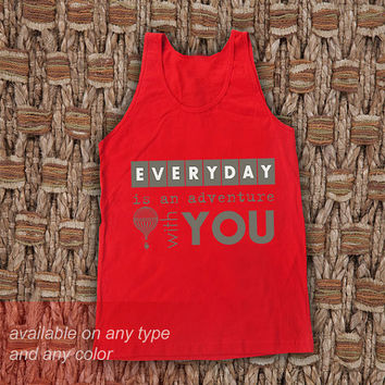 Everyday is You Casual Wear Sporty Cool Tank top Funny Tank Cute Direct to garment