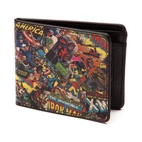 Marvel Comic Print Wallet
