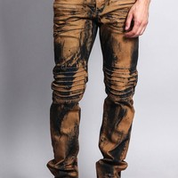 Mud Wash Denim Jeans DL1051 - H14F