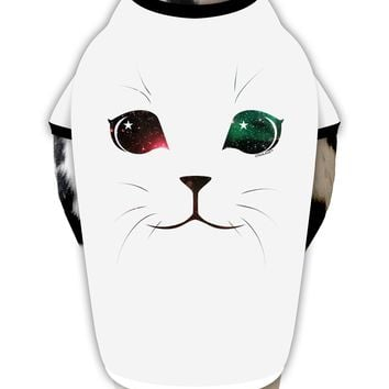 Adorable Space Cat Stylish Cotton Dog Shirt by TooLoud