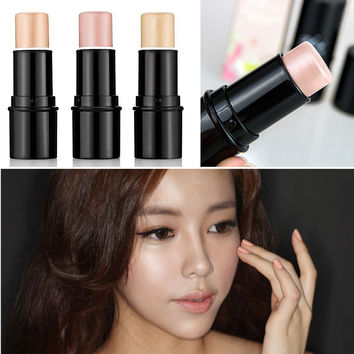 Pearl & high light stick high light brightening Concealer cream local nose shadow powder silkworm pen #M02076