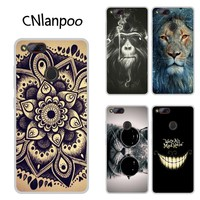 For ZTE Nubia Z17 mini Case Cartoon Pattern Printing Soft TPU Mobile Phone Shell Back Cover For ZTE Z17 mini Protection Capas