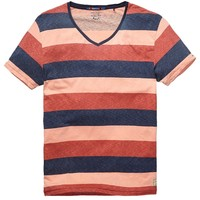 Allover Striped Tee - Scotch & Soda