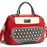 Retro To Go: Kate Spade 'All Typed Up Clyde' crossbody satchel
