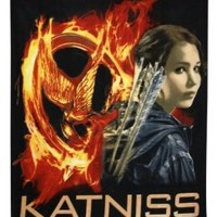 The Hunger Games Movie Polar Fleece Blanket Throw Katniss