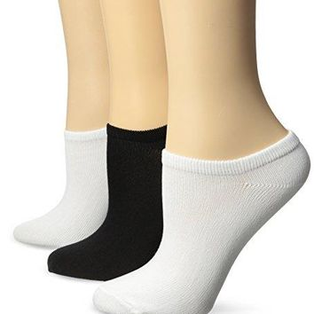 No Nonsense Womens Ahh Said The Foot Microfiber No Show Sock 3Pack