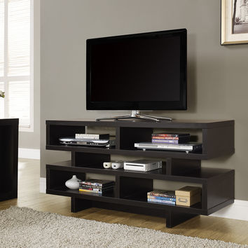 "Cappuccino Hollow-Core 48""L Tv Console"