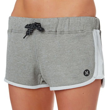 Hurley Dri-fit Fleece Beachrider Running Shorts - Heather Grey