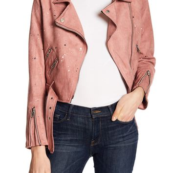 Jella C. | Painter Cropped Moto Jacket | Nordstrom Rack