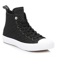 Converse All Star Chuck Taylor II Mens Black Thunder Shield Trainers