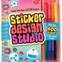 Klutz: Sticker Design Studio - Interactive - The Scholastic Store