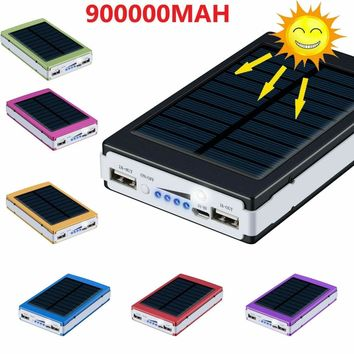 900000mAh Backup External Battery USB Power Bank Pack Charger for Cell Phone