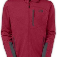 Gliks - The North Face Canyonlands Hoodie for Men in Red Heather