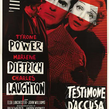 Witness for the Prosecution (Italian) 11x17 Movie Poster (1958)