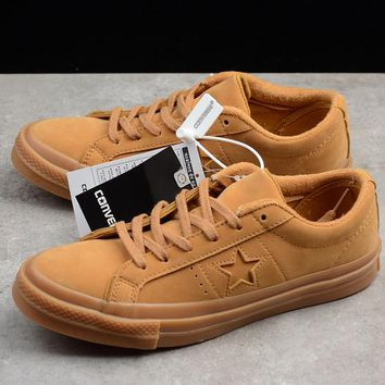 """Converse All Star """"Wheat"""" Low Top Sneaker"""