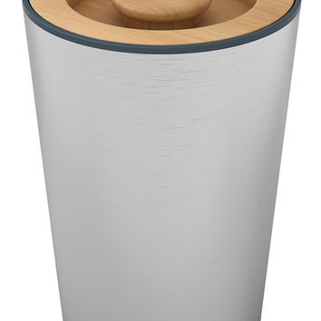 Joseph and Joseph Stainless Storage 100 Canister with Airtight Beech Lid
