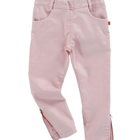 Billieblush Iridescent Ankle Zip Jegging in Rose - - U14048/45N -  FINAL SALE