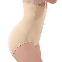 Seamless Women High Waist Slimming Tummy Control Knickers Pants Pantie Briefs Shapewear Underwear Magic Body Shaper Lady Corset