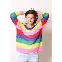 Rainbow Dreams Summer Sweater