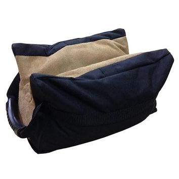 All Leather Bench Bag-Extra Large-Filled