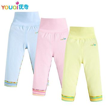 YOUQI 3Pairs/Lot Baby Pants Toddler Infant Girl Boy Bottoms Cartoon Bear Unisex Baby Trousers Spring Autumn Cute Baby Pants