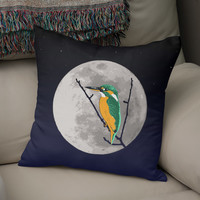 «Fly me to the moon», Numbered Edition Coussin by Savousepate - From 25€ - Curioos