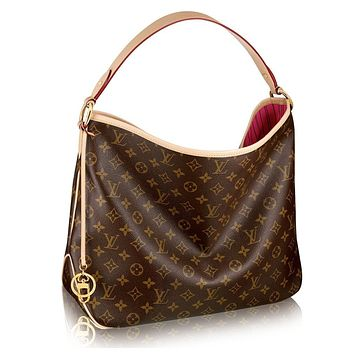 LV Monogram Delightful MM Handbag Article: M50156 Made in France