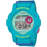 Ladies' Casio Baby-G G-lide Blue Watch