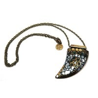 Joni White Horn Necklace