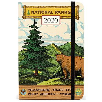 Cavallini & Co National Parks 2020 Weekly Planner