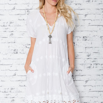 Angel Lucy Dress in White