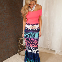 Crash in to Me Maxi Skirt
