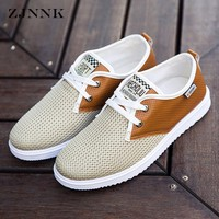 Hot Sale Men Summer Shoes Breathable Male Casual Shoes