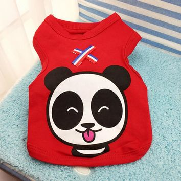 Cheap Clothes for Dog Pets Clothing Cat Puppy Dog Vest T shirt for Pet Cute Cartoon Pet Costume Chihuahua Poodle Yorkies Bichon