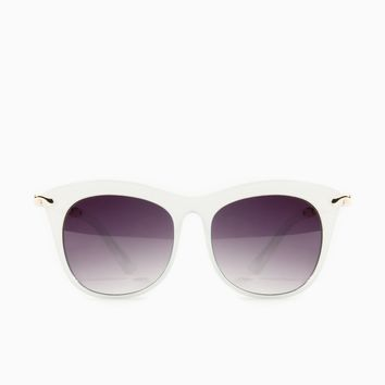 ShopSosie Style : Gaze Out Sunglasses in Mint