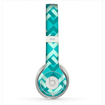 The Locking Green Pattern Skin for the Beats by Dre Solo 2 Headphones