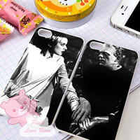 Frankenstein and Bride couple Design for iPhone 4, iPhone 4s, iPhone 5, Samsung Galaxy S3, Samsung Galaxy S4 Case
