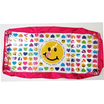 Confetti and Friends Hearts and Emoji Under Bed Storage