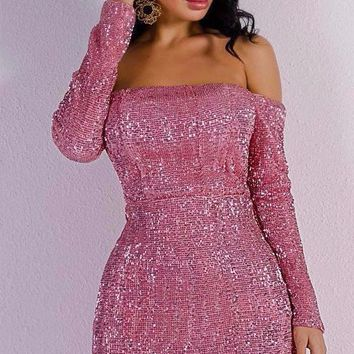 Chelsea Sequin Dress