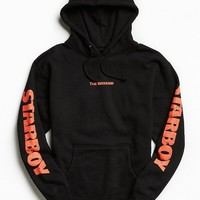 The Weeknd Lightning Graphic Hoodie Sweatshirt - Urban Outfitters