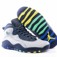 jordan 10 RIO colorway