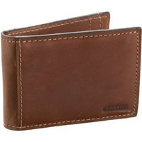 Fossil Rudy Bi-Fold Wallet,Brown,one size