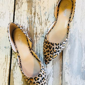 Leopard in the City Slip On